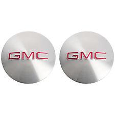 OEM NEW Wheel Hub Center Cap Set Brushed Aluminum w/Logo 07-16 Acadia 9597360