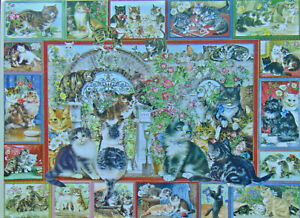 .PUZZLE...JIGSAW....BEHR...Lots Of Cats...500pc.Sealed.