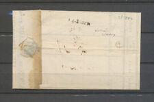 14 mars 1822 Lettre arrivée linéaire à Limoux, TB X5118