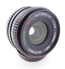 Sirius MC 28mm f2.8 Close Focus Wide Angle Lens Pentax PK-A Mount  Free UK P&P!
