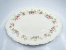 "Royal Albert Bone China Colleen Floral Oval Serving Platter, 13 1/2"" x 10 3/4"""