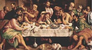 THE LAST SUPPER - COUNTED CROSS STITCH CHART