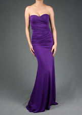 Formal Prom Juniors Strapless Party Gown Evening Cocktail Long Maxi Dress S M L