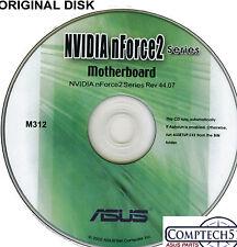 ASUS GENUINE VINTAGE ORIGINAL DISK FOR A7N8X-X Motherboard Drivers Disk M312