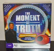 The Moment of Truth party game with toy Biometric Lie Detector new sealed