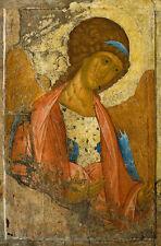Archangel Michael. From the Deisus Chin Andrei Rubljow Erzengel Bibel B A3 00500