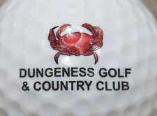 (1) Dungeness Golf & Country Club Golf Course Logo Golf Ball