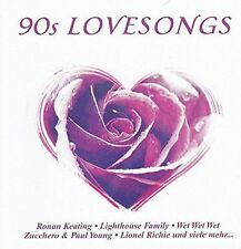 90s Lovesongs Ronan Keating, Maria McKee, Lighthouse Family, Lionel Richi.. [CD]