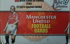 Manchester United 1999 Football Trading Cards