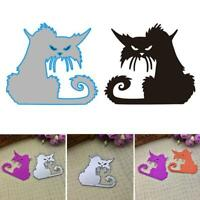 Cat Metal Cutting Dies Stencil DIY Scrapbooking Album Stamp DIY Decoration