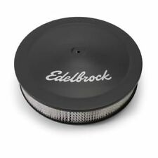"Edelbrock 1223 Pro-Flo Air Cleaner 14"" Dia. 3"" Element 3/8"" Deeper Flange Black"
