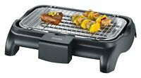 SEVERIN Gril Barbecue, Gril de table, Surface du Gril (37x23cm), 2.300W, PG 8510