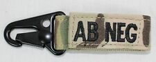 Condor AB- Negative Blood Type Key Chain - Multicam - New - 239AB-008