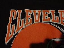 Vintage CLEVELAND BROWNS Helmet LOGO NFL Football T Shirt FREE Shipping Medium