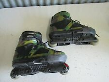 Valo TV3 Camo Aggressive Inline Skates Rollerblades Men's Size 8 Made In Italy