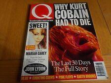 Q MAGAZINE ISSUE NO. 93 JUNE 1994 KURT COBAIN, JOHN LYDON, MARIAH CAREY, BLUR