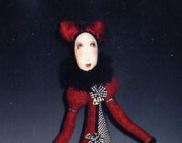 SALE - PATTERN - Ruby Valentino - Beautiful art cloth doll PATTERN