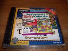 Southwestern Kids Collection Mighty Math Thinkin Science Pix Delux (4 CD SET)