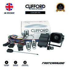CLIFFORD CONCEPT 470 3 CHANNEL SECURITY SYSTEM WITH OPTIONAL KEYLESS ENTRY