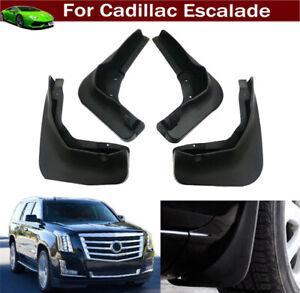 4 Mud Flaps Mudflap Splash Guard Mud Guards for Cadillac Escalade 2015-2020