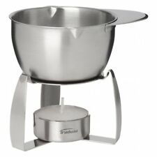 Trudeau Maison Stainless Steel Butter Warmer with Tea Light