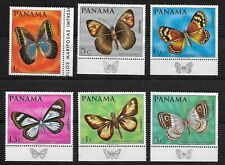 E7136 PANAMA BUTTERFLIES Yv # 471/4 + A 446/7 Complete Set