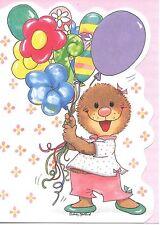 Suzy's Zoo Happy Birthday Emily Marmot With Balloons Greeting Card