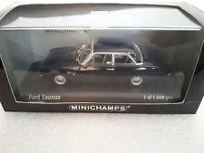 FORD TAUNUS 1960 Dark blue 1/43 MINICHAMPS 430 085108