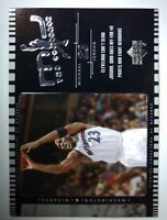 2002-03 Upper Deck MJ The Comeback Bulls Basketball Card #J6 Michael Jordan