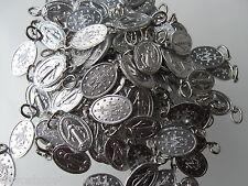Wundertätige-Wunderbare-Medaille 1,5 cm 10 Stück Medaillen Alu si.