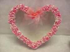 Large Hydrangea Heart Shape see through top box Gift Party Wedding Decor Favor