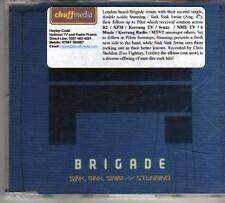 (DO622) Brigade, Sink Sink Swim  - 2008 DJ CD