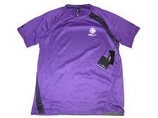 RLX Ralph Lauren Polo Purple Cycle Spandex Active Shirt Soccer Gym Apparel Large
