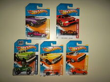 5 Hot Wheels Flashsider Chevelle Pikes Peak Tacoma Charger R/T Road Runner