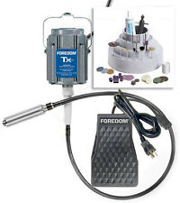 rle FOREDOM K.TX300 ,1/3 HP (w/#30 HANDPIECE) NEW!