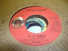 Rock 45 J. J. CALE Crazy Mama on Shelter