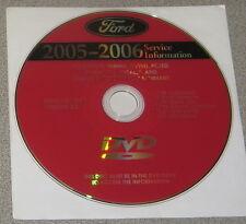 2006 Ford F-150 Mark LT Truck Service Manual Set DVD