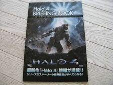 HALO 4 BRIEFING BOOK + DESTINY + EXTRA JAPAN GAME PROMO X6 GTA MGS BIOHAZARD NFS