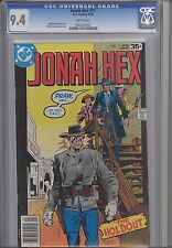 Jonah hex #11  CGC 9.4 1978 DC Comic: The Hold Out