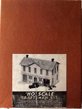 "HO Scale Mainline Siding ""Western Pennsylvania Granitoid Co. & Reno Garage"" Kit"