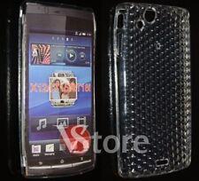 Cover Custodia Per Sony Ericsson Xperia Arc S e X12 GEL Trasparente
