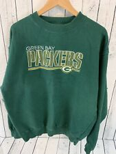 VTG 90s Green Bay Packers Majestic Embroidered Crew Neck Sweatshirt Men's XL