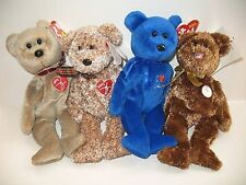 Ty Beanie Babies 1999 2002 Signature Bears Chicago World Cup FIFA Soccer Plush