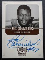 1999 Upper Deck Century Legends Harold Carmichael HC Autograph