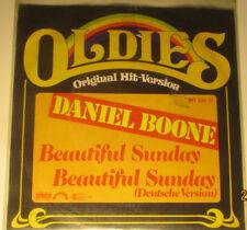 "7"" Vinyl Oldies, Daniel Boone ""Beautiful Sunday, Beautiful Sunday in Deutsch"""
