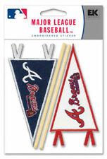 Case 576 Atlanta Braves 3d MLB Pennant Scrapbook Stickers Retail Value 304