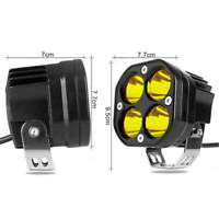 """3"""" 24W CREE Led Work Light Pod for 4x4WD Off road Car Driving Yellow Spotlights"""