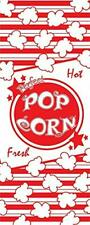Concession Essentials 1 Oz Popcorn Bags Pack Of 500 Count Printed Paper Pop