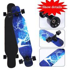 42 Inch Drop Through Maple Deck Complete Longboard Skateboard Cruiser
