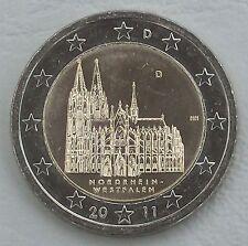 2 Euro Deutschland D 2011 Kölner Dom unz